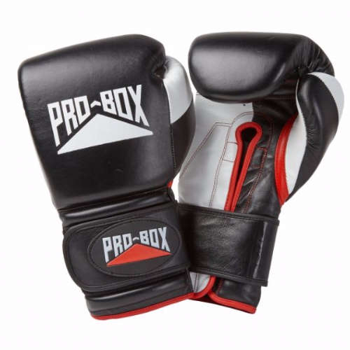 Pro-Box 'Pro-Spar' Boxing Gloves - Black